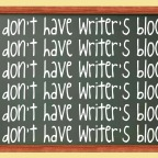 Writer's Block: How To Push Through